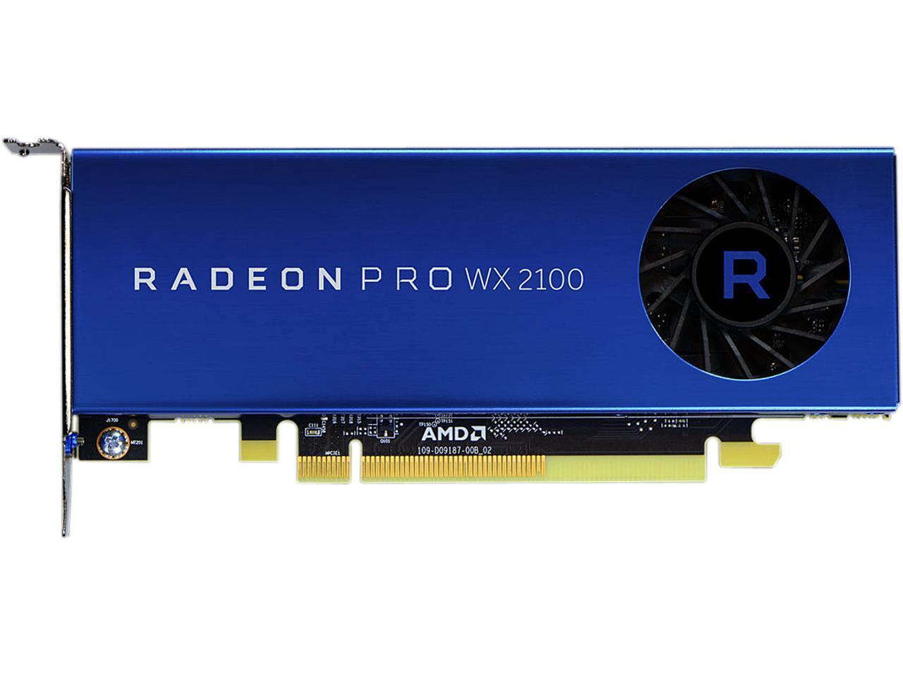 AMD Radeon Pro WX 2100 - 2GB GDDR5, 2xmDP, 1xDP