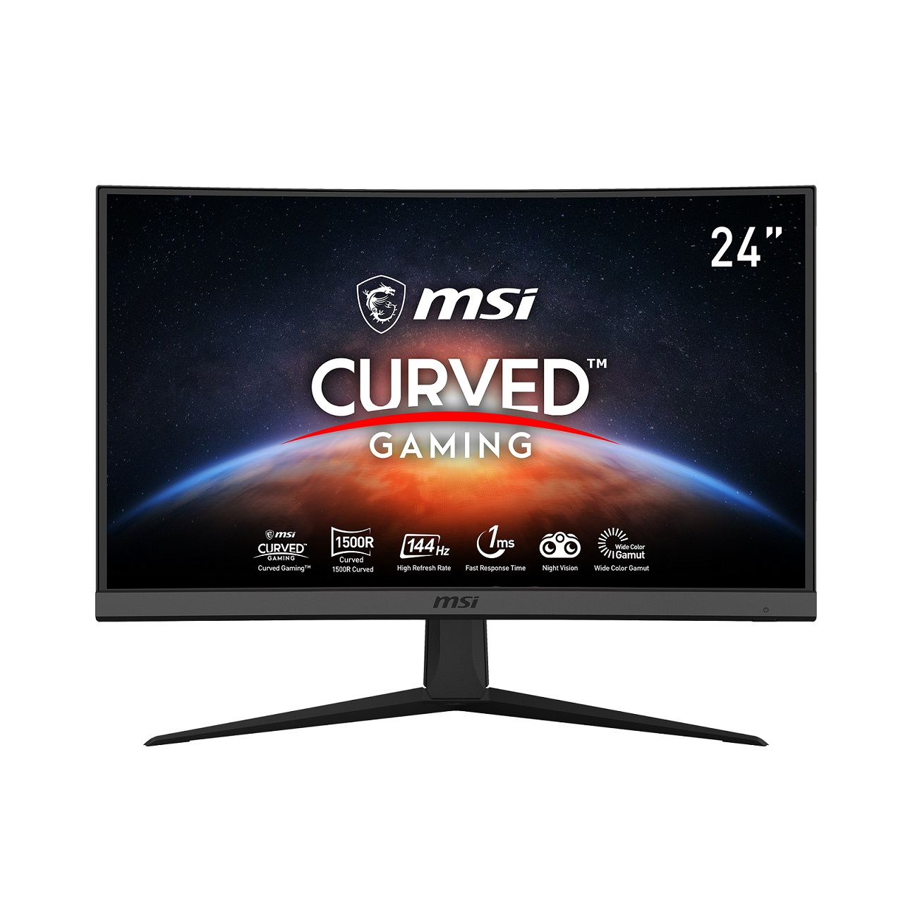 MSI Optix G24C6 23,6''C/1920x1080/3000:1/1ms/144Hz - Optix G24C6
