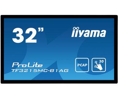 32'' iiyama TF3215MC-B1AG: FullHD,capacitive, 500cd/m2, VGA, HDMI, černý - TF3215MC-B1AG