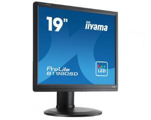 19'' LCD iiyama Prolite B1980SD-B1 - 5ms,250cd/m2,1000:1,5:4,VGA,DVI,repro,pivot,výšk.nastav.,černý