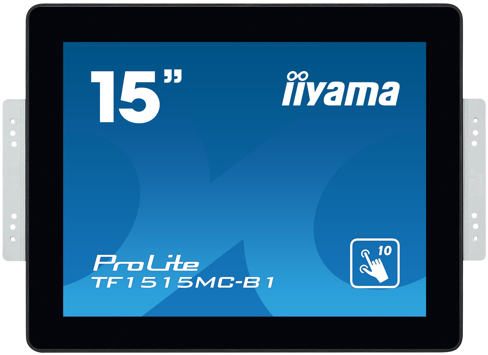 15' iiyama TF1515MC-B1 - TN,1024x768,8ms,300cd/m2, 800:1,4:3,VGA,HDMI,DP,USB