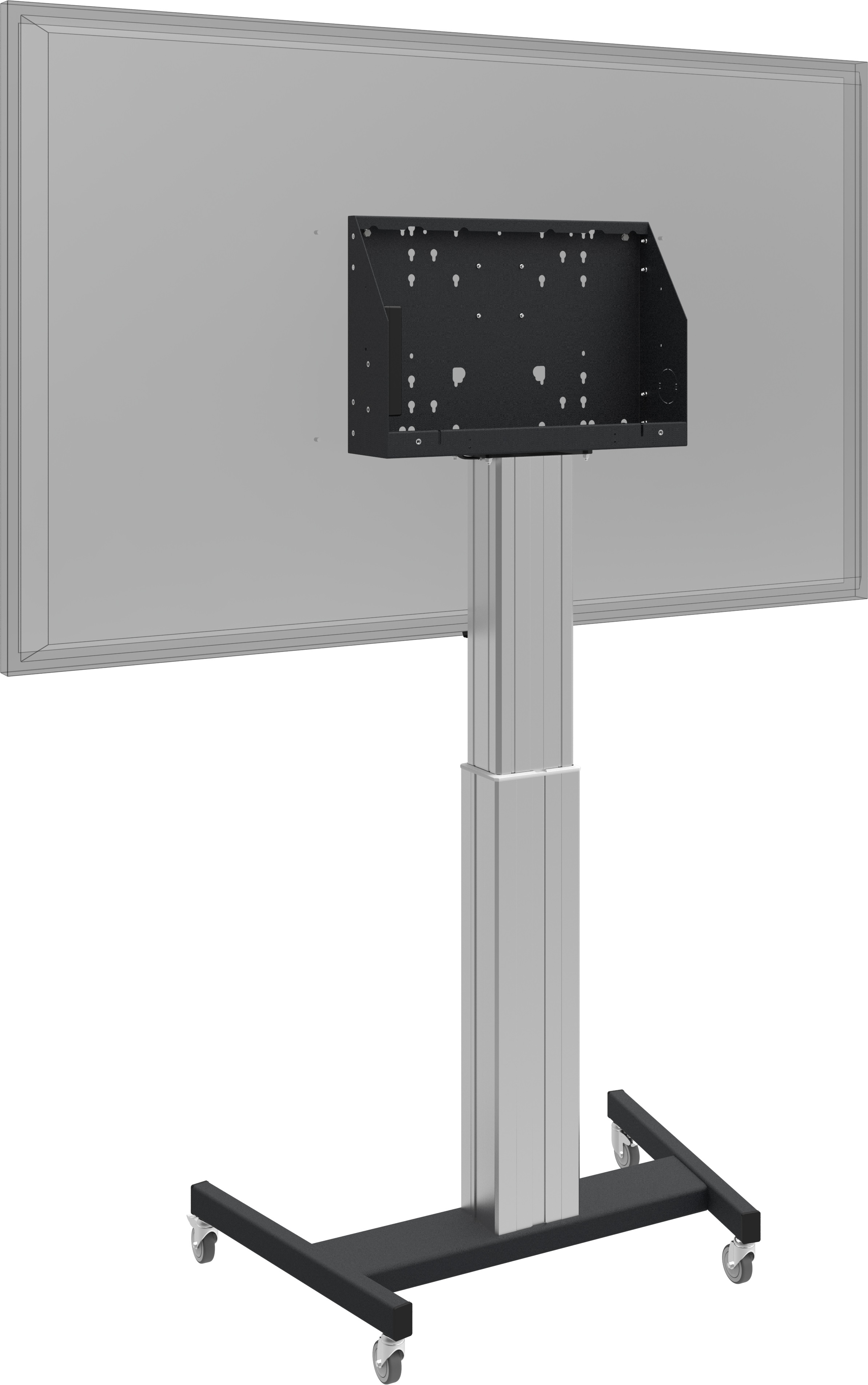 "iiyama - Floor lift XL on wheels for (touch) screens bigger than 65"", max 120 kg"