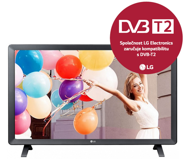 24'' LG LED 24TL520S- HD Ready, HDMI, TV Tuner