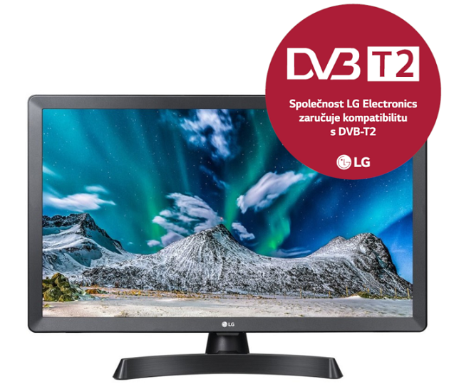 24'' LG LED 24LT510S - HD Ready, HDMI, TV Tuner