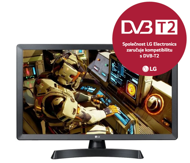 24'' LG LED 24TL510V - HD ready,DVB-T2,HDMI,USB