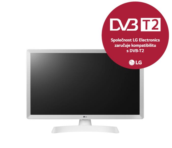 28' LG LED 28TL510V-HD ready,DVB-T2, white