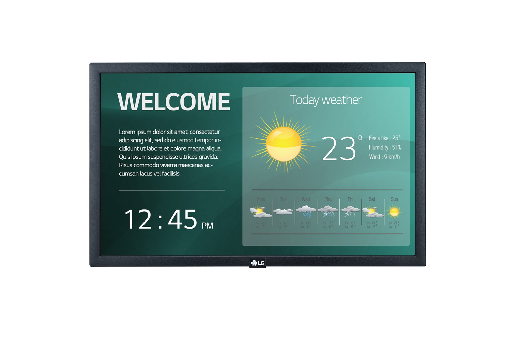 22'' LG LED 22SM3G  - FHD,IPS,250cd,16/7