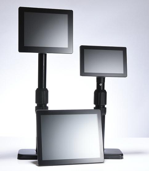 Výškově stavitelný kov. stojan 7-10'' LCD/Touch