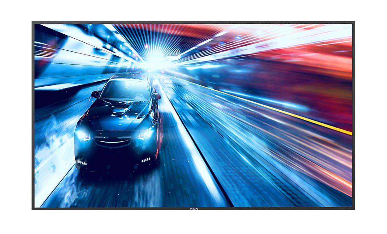 49'' D-LED Philips 50BDL3010Q-UHD,350cd,MP,18/7