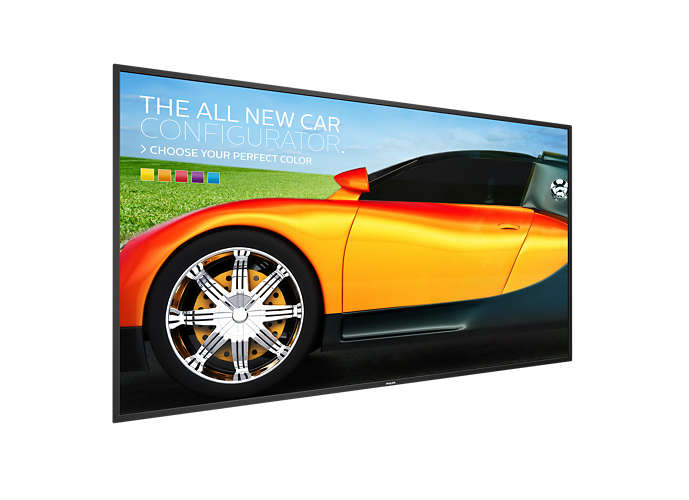 49'' E-LED Philips 49BDL3050Q - UHD,350cd,16/7