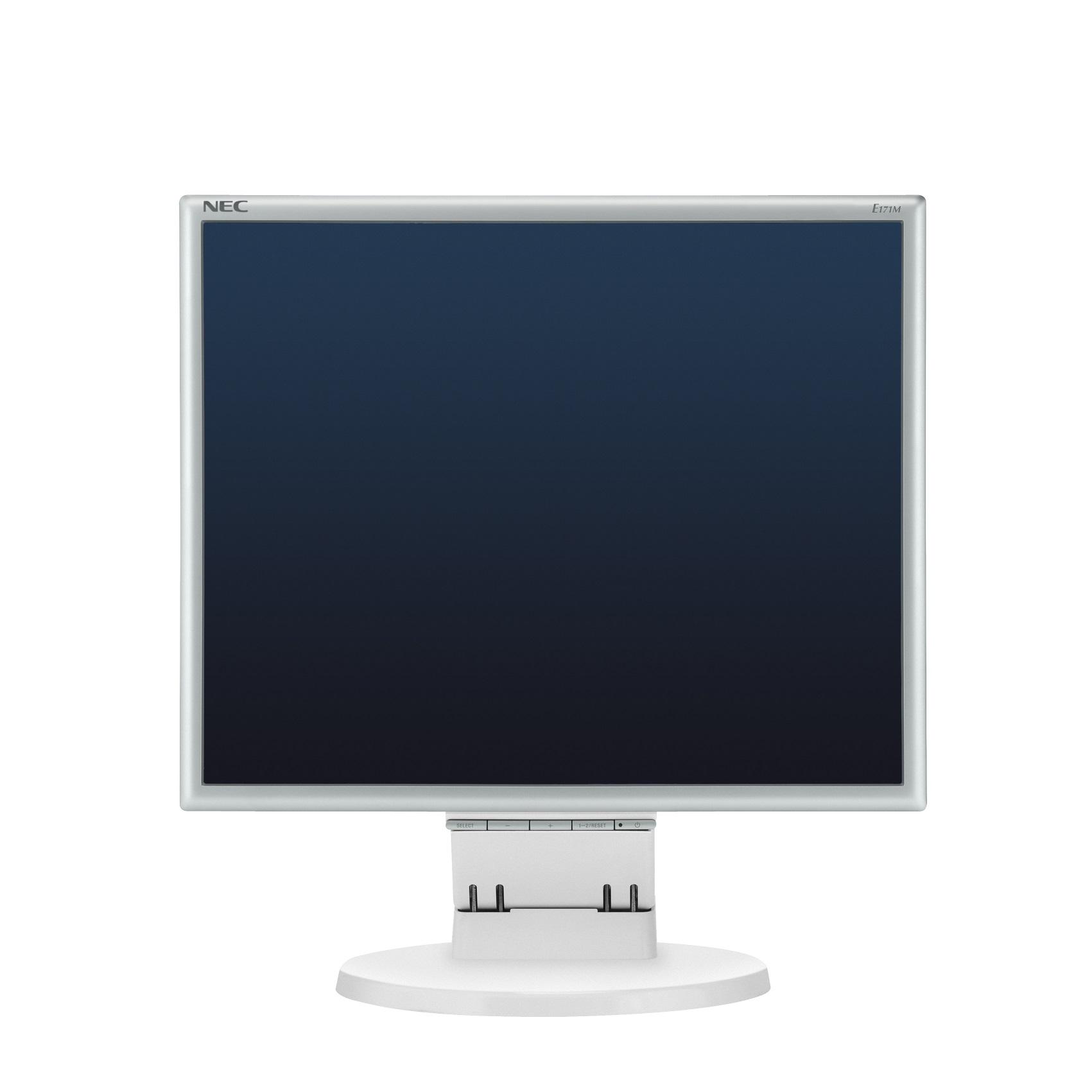 17' LED NEC E171M - 1280x1024, DVI, rep,HAS,slvr