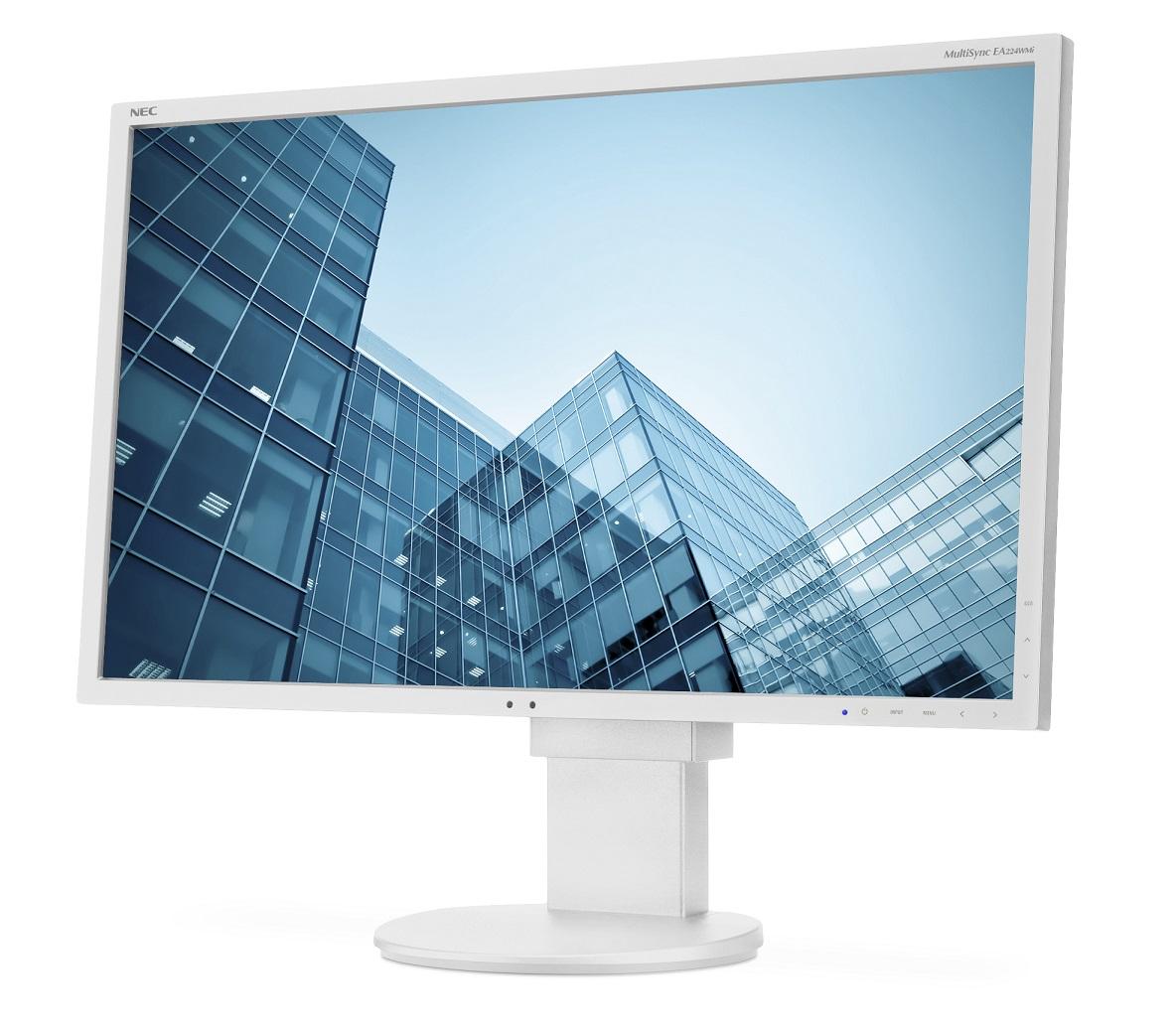 22' LED NEC EA224WMi - FullHD,IPS,DP,USB,piv,r,wh