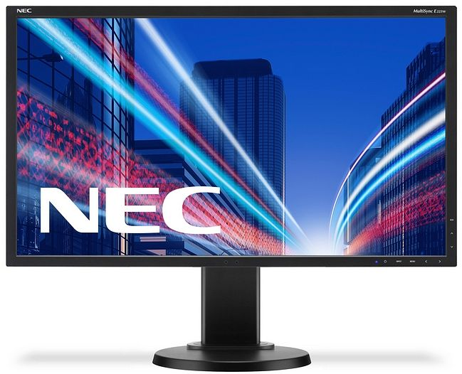 22' LED NEC E223 - 1680x1050,DVI,DP,pivot,blk
