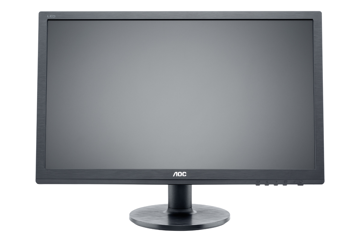 22' LED AOC E2260SDA - 1680x1050,DVI,rep,blk