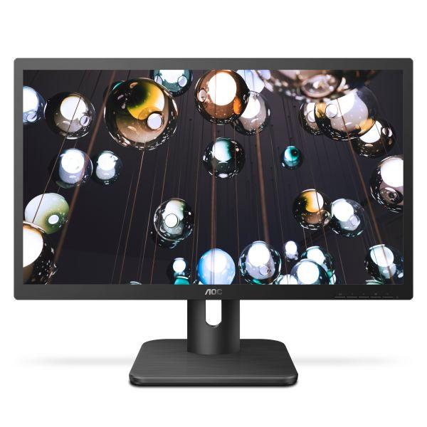 """22"""" LED AOC 22E1Q - FHD,MVA,HDMI,DP,repro"""