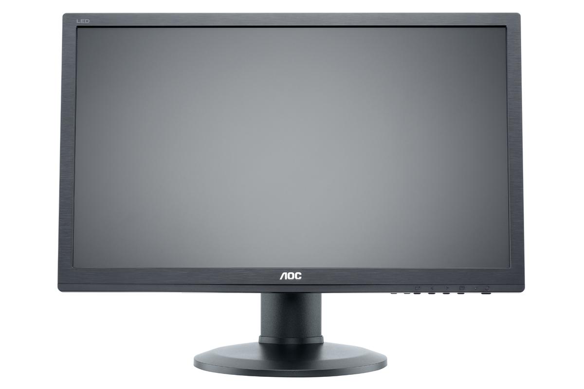 24'' LED AOC E2460PDA - FHD,DVI,rep,piv,blk