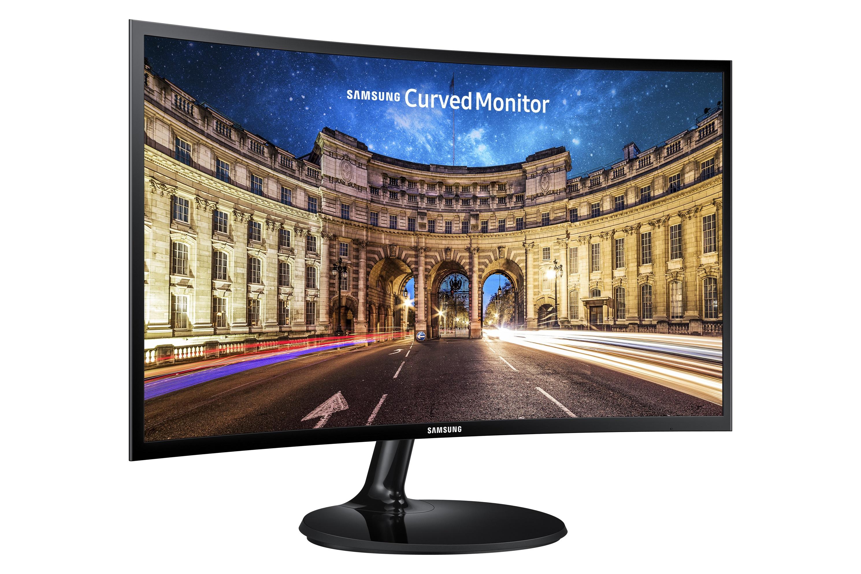 24' Samsung C24F390F - FullHD, D-Sub, HDMI