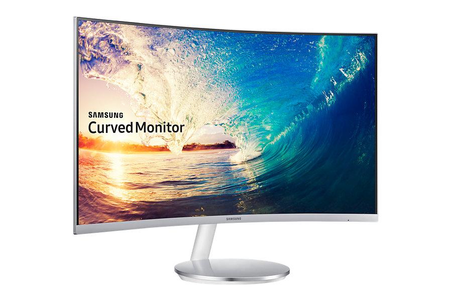 27' Samsung C27F591, HDMI, DP, VA, curved