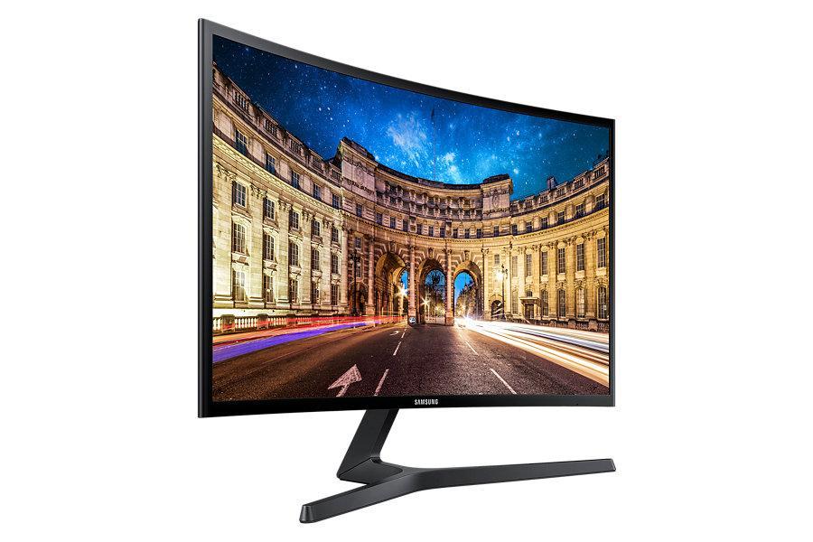 27' Samsung C27F396 FullHD,HDMI,VA,D-Sub,Prohnutý