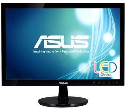 19'' LED ASUS VS197DE černý -1366x768, 16:9, VGA