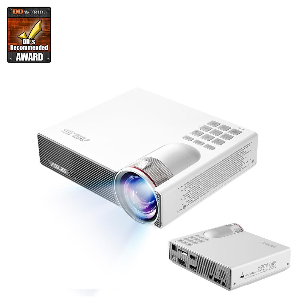 ASUS P3B LED projector, 800 Lum, baterie,repro,ovl