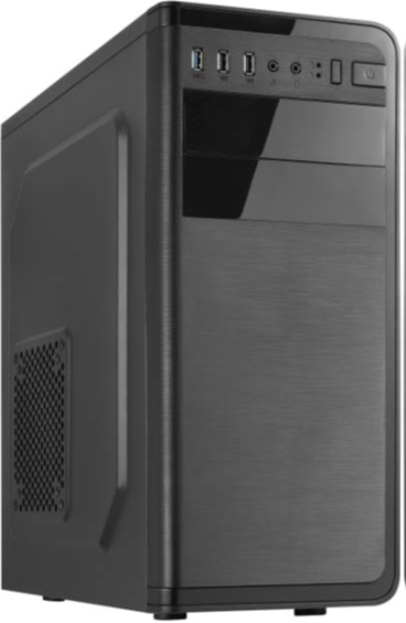 Crono Case 760i ATX Mid Tower case, bez zdroje