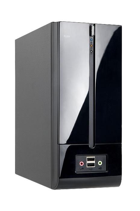 Mini ITX In-Win BM639, USB 3.0 + 160W zdroj, černá