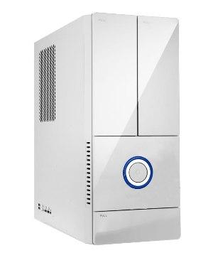 SFF In-Win BK644 lesklá bílá 4x USB 2.0 +300W 85+