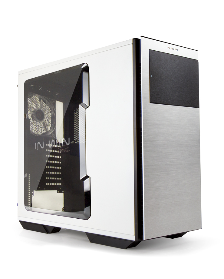 E-ATX skříň In Win 707 White/Silver