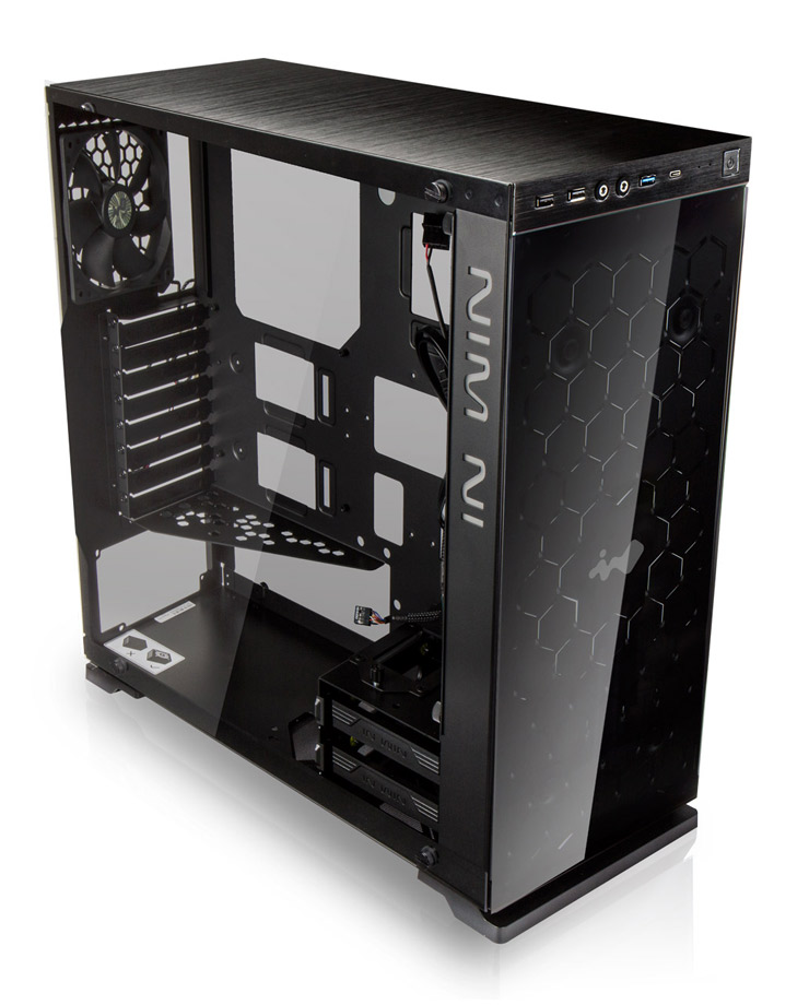 Midi ATX skříň In Win 805C Black gaming