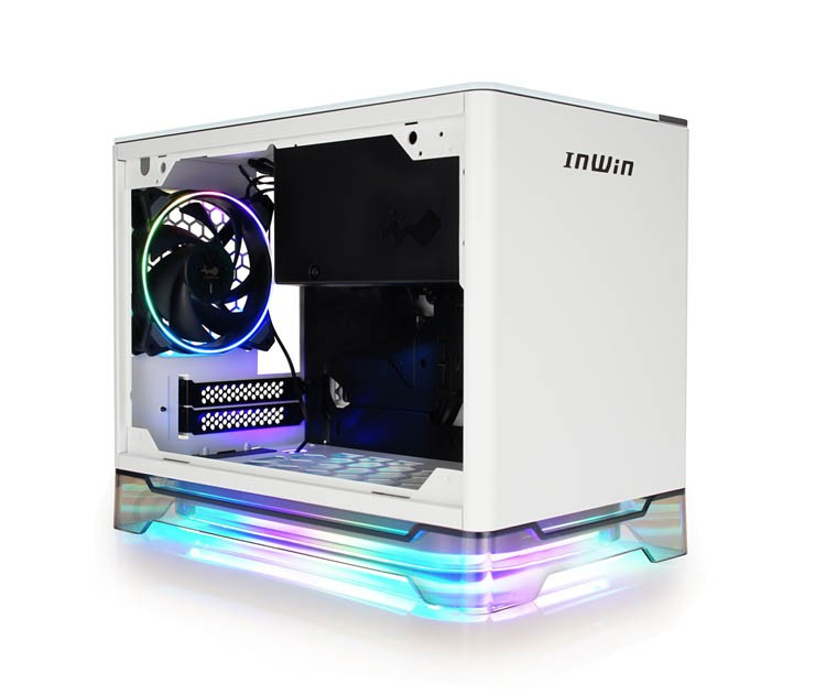 Mini ITX skříň In Win A1 Plus White +650W