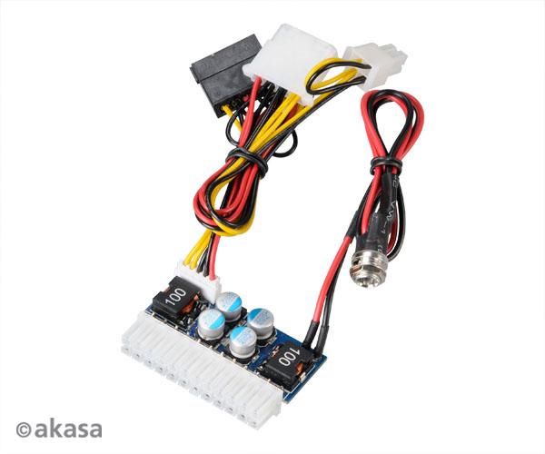 AKASA adaptér 80W DC pro DC ATX power - AK-PE080-03