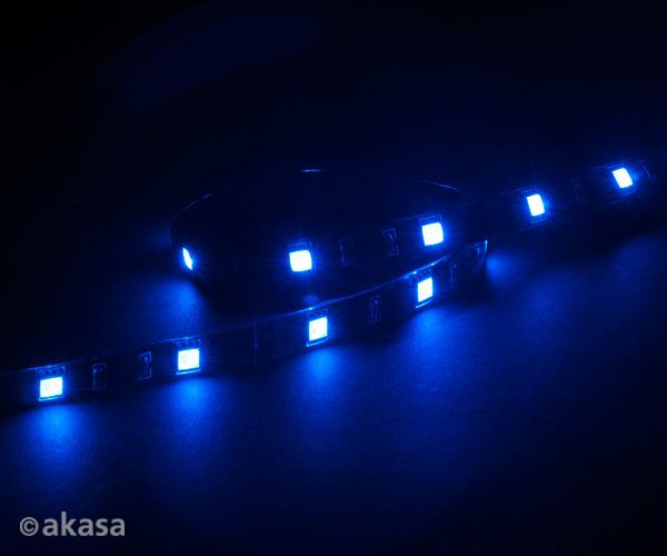 AKASA - LED páska-magnetická - modrá Vegas M