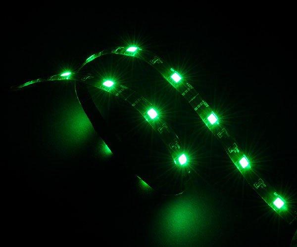 AKASA - LED páska - zelená Vegas 50 cm - AK-LD02-05GN