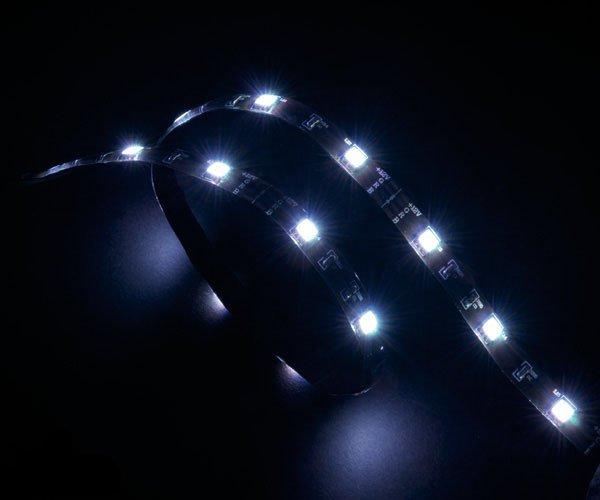 AKASA - LED páska - bílá Vegas 50 cm