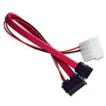 AKASA - slimline SATA na SATA data a power - 40 cm - AK-CB050-40
