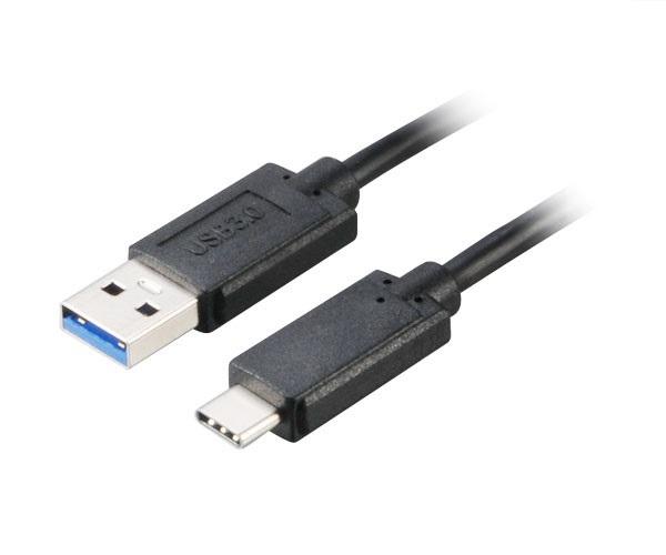 AKASA - USB 3.1 typ C na typ A adaptér - 100 cm