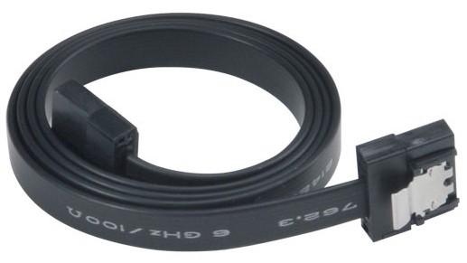 AKASA - Proslim - Sata kabel - 15 cm - AK-CBSA05-15BK