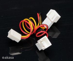 AKASA - rozbočovač ventilátoru - 3-pin - AK-FY320