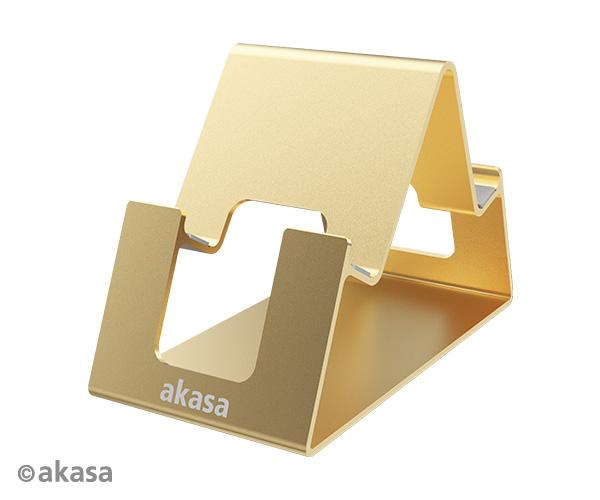 AKASA - Aries Pico - stojan pro tablet - zlatý