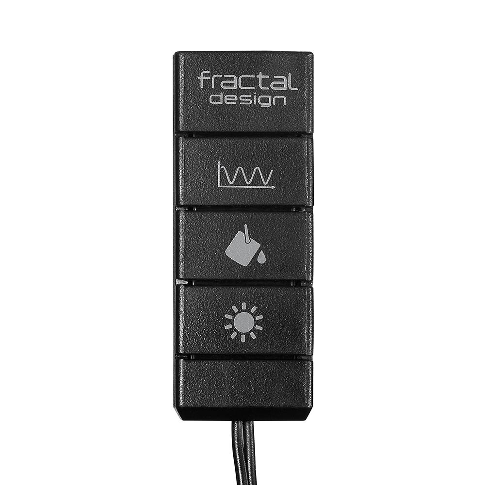 Fractal Design Adjust R1 RGB Fan controller černý - FD-ACC-ADJ-R1-BK
