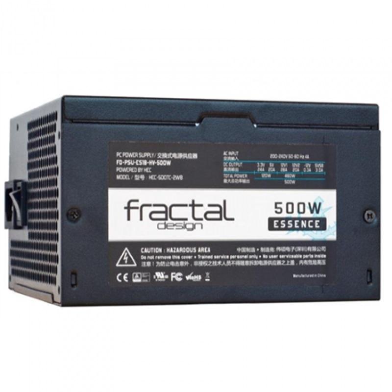 Fractal Design Essence Black 500W (>85%)