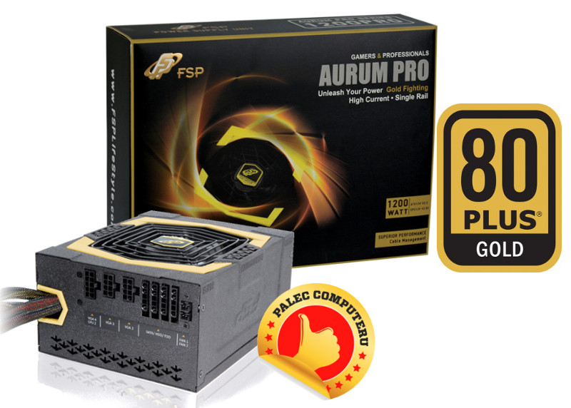 Fortron AURUM PRO 1200W 80PLUS GOLD, modular