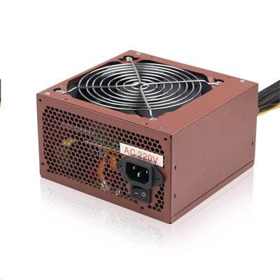 GEMBIRD zdroj BRONZE 600W ATX/BTX, CE, aktivní PFC, 12 cm fan