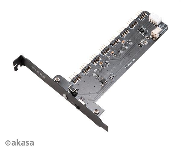 AKASA - Vegas RGB Controller Card XL - AK-RLD-03