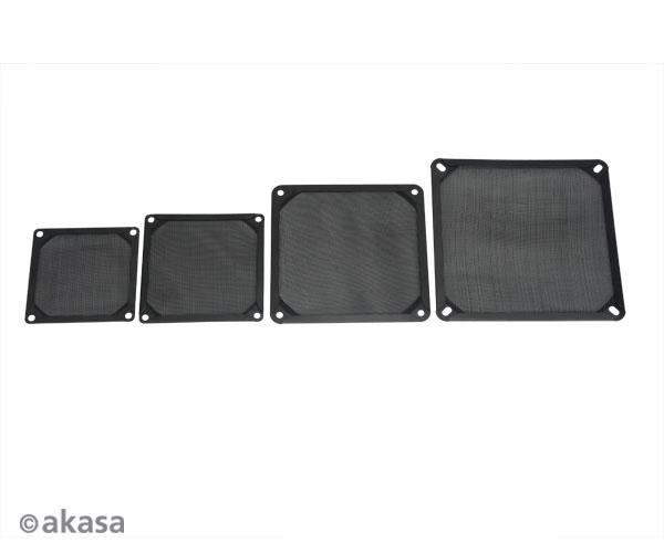 AKASA 9.2cm Aluminium fan filter