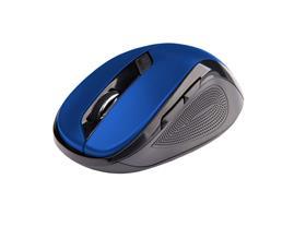 C-TECH Myš WLM-02 bezdrátová, 6tlač. černo-modrá