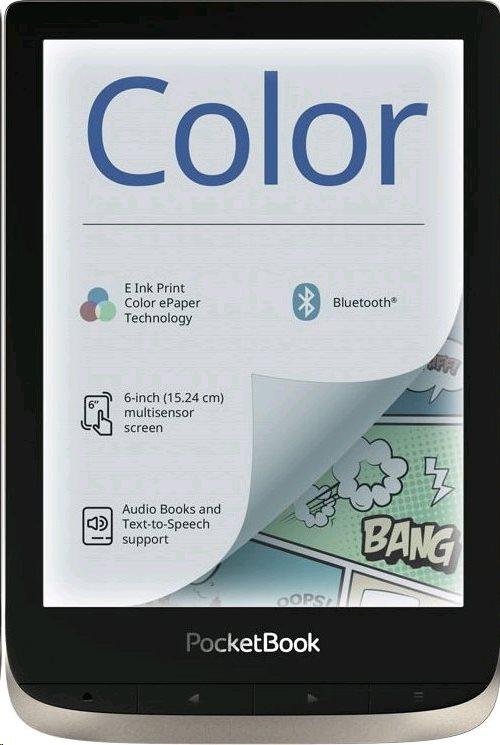 E-book POCKETBOOK 633 Color, Moon Silver - PB633-N-WW