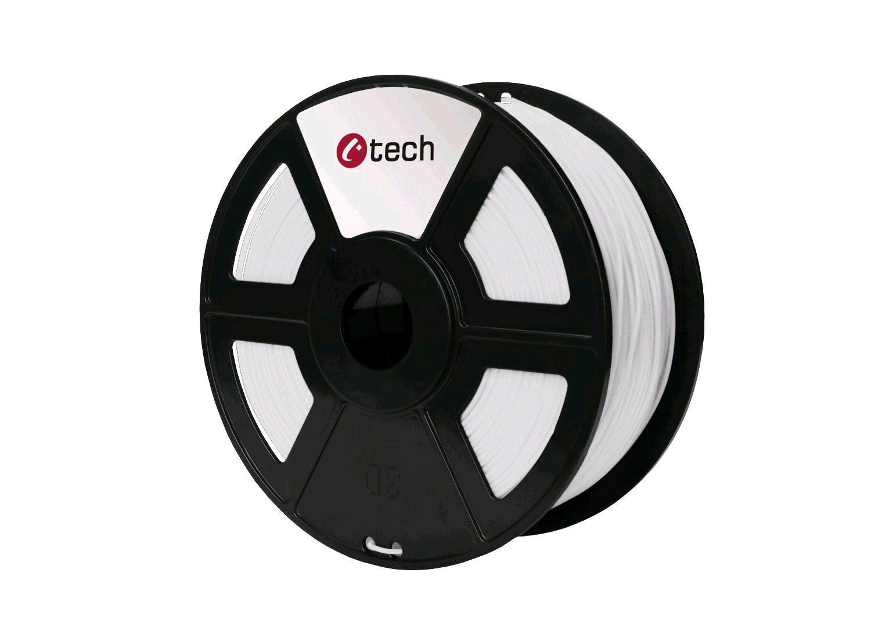 HIPS WHITE bílá C-TECH, 1,75mm, 1kg - 3DF-HIPS1.75-W