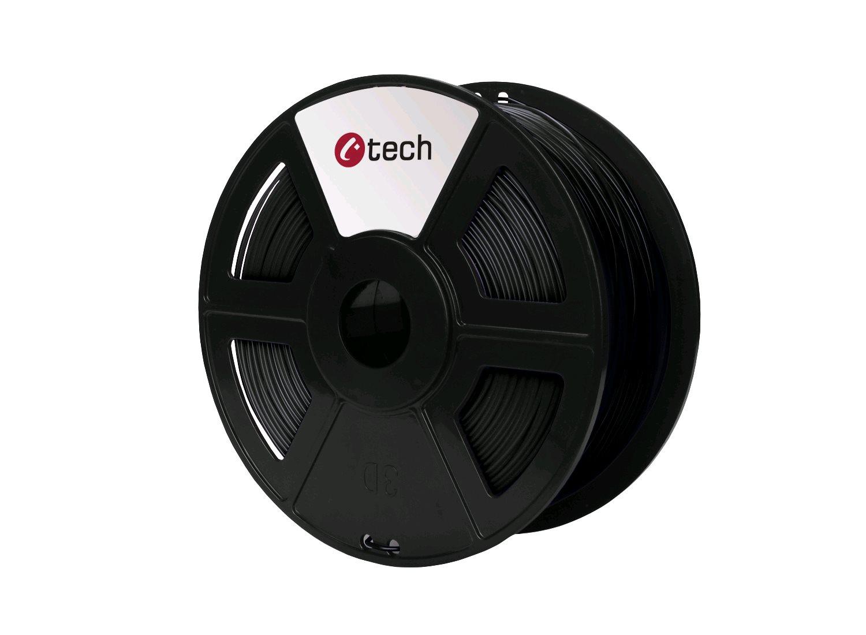 ABS BLACK černá C-TECH, 1,75mm, 1kg